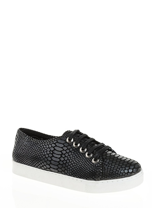 Derigo Bağcıklı Ayakkabı Siyah